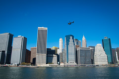 over NYC (Marek Lubas) Tags: city nyc newyork skyline nikon skyscrapers helicopter newyorkphotography d5300