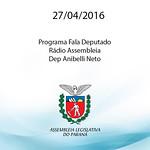 Programa Fala Deputado da R�dio Assembleia - Dep Anibelli Neto