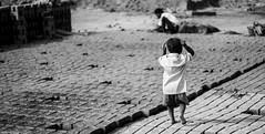 Brick Kiln Stories (anandgovindan) Tags: life street travel portrait people blackandwhite india white black brick monochrome kids canon 50mm blackwhite kid pattern bricks highcontrast places depthoffield portraiture highkey f18 chennai tamilnadu panaroma southindia 50mmf18 cwc hardship brickkiln brickfactory nemam thiruvallur tiruvallur canon600d chennaiweekendclickers anandgoviphotography anandgovindan cwc524