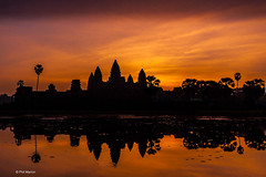 Angkor Wat at sunrise (Phil Marion) Tags: travel wedding boy vacation people woman hot sexy ass beach girl beautiful beauty sex canon naked nude nipples slim boobs nu candid dick young hijab nackt explore teen tranny xxx chubby plump  burqa nudo desnudo dink  nubile telanjang schlampe    5photosaday explored  thn nijab    kha    malibog    philmarion         saloupe