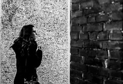 (Kujo1087) Tags: life street city blur monochrome composition contrast blackwhite fuji streetphotography shades outoffocus vision verona fujifilm fujinon decisivemoment xphotographers saramandes