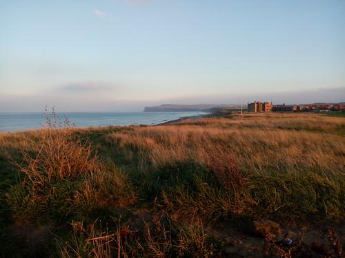 Entre Redcar et Marske-by-the-sea, en Angleterre