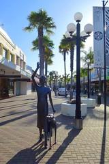 Art Deco Lady (gec21) Tags: newzealand sculpture panasonic nz artdeco napier hawkesbay 2015 dmctz20