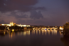 Along the Vltava River (lukedrich_photography) Tags: longexposure bridge light building tower history church water stone architecture night canon river dark religious europa europe king european catholic arch czech prague president religion gothic transport culture royal praha praga tschechien praskhrad historic christian czechrepublic residence charlesbridge oldtown bohemia vltava waterway stvituscathedral rpubliquetchque ceskarepublika  praguecastle archbishop centraleurope staremesto karlvmost adalbert  repblicacheca    repubblicaceca eskrepublika wenceslaus         t1i canont1i    metropolitnkatedrlasvathovtavclavaavojtcha
