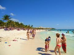 Mexico Dreams.... (Bubash) Tags: vacation sun beach del sand warm playa mexican tropical carmen barcelo riveria
