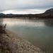 Acampamento ao lado do rio Liard
