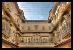 Bikaner IND - Junagarh Fort Anoop Mahal 03