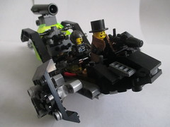 The Moonshadow (Luke Skytrekker) Tags: lego aircraft trenchcoat scifi vehicle airship ion steampunk farfuture