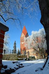 Biestow #8 (victorlaszlo73) Tags: winter sunny sonnig dorfkirche mecklenburgvorpommern biestow