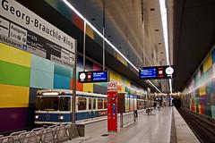 U-Bahn  Georg-Brauchle Ring - München (Magdeburg) Tags: germany underground subway munich münchen bayern bavaria metro ring ubahn georgbrauchlering georgbrauchle munichsubway munichunderground subwaymunich metromunich ubahngeorgbrauchlering georgbrauchleringmunich
