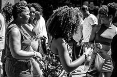 Roberto (Blasius Kawalkowski) Tags: street city bw white black amsterdam tattoo 35mm hair photography women faces candid scene snap roberto moment unposed decisive strassenfotografie