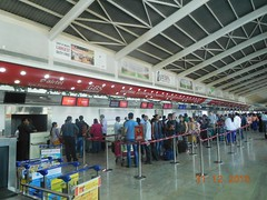 GBS at T1E Departure area. Panels (13) (Times OOH MIAL) Tags: gsb pannels t1edeparture