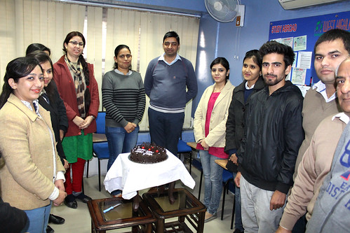 LinguaSoft EduTech Chandigarh staff `s get together at New Year Eve