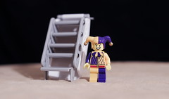 Buying a stairway to heaven (Busted.Knuckles) Tags: home fun lego jester minifigures 35mmf14 pentaxks2 camerautility5