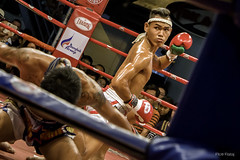 Muay Thai (Piotr Rataj) Tags: red man men sport thailand fight fighter bangkok thai mbk boxing muay bkk muaythai mbkfightnight