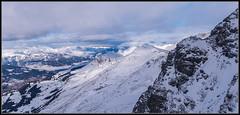 Blick in die Ferne, Lenzerheide CH (rapp_henry) Tags: winter mountains alps nature clouds schweiz switzerland natur wolken berge alpine alpen tamron ausblick wintry lenzerheide graubnden nikond800 henryrapp 1530mm28