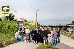 Tourists on the Canal 9801 (Ursula in Aus) Tags: cruise germany bavaria europe unesco regensburg vikingdelling