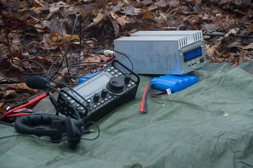 QTH on W4C/CM-105 - Spring Mtn