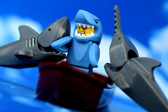 State of Shark, State of Shock... (Lesgo LEGO Foto!) Tags: sea cute love water river fun toy toys shark boat lego 15 row rows rowing series sharks minifig collectible minifigs omg collectable minifigure minifigures sharkboy sawshark grayshark greyshark series15 legophotography legography collectibleminifigures collectableminifigure coolminifig