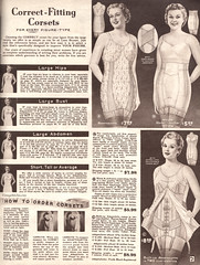 Spring and Summer 1955 Lane Bryant (vintagestitches) Tags: ladies 1955 fashion vintage cotton 1950s zipper corset catalog rayon nylon hooks brocade mailorder fitting allinone elastic lacing garters lanebryant girdle plussize viscose boning coutil adaptolette lenoelastic