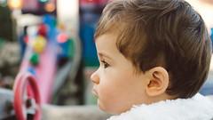 Le Manege (Gregory Criteau) Tags: portrait colors child pentax head fair fete enfant fa profil manege 49mm chidhood