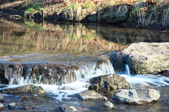 9 mile run (kwtracyghostship) Tags: park city winter creek reflections rocks stream pittsburgh pennsylvania squirrelhill pa slowshutter frickpark alleghenycounty 24105l 9milerun commonwealthpa