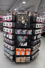 DavidBowieDisplayHMVOxfordSt_R5272 (Firing Canon) Tags: bowie display transformer rip jazz loureed rockmusic cds oxfordstreet glamrock iggypop davidbowie compactdisc hmv blackstar artrock restinpeace drumandbass lustforlife spacerock theidiot top100albums davidbowierip