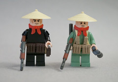 Vietcong Front (blackographic) Tags: war lego vietnam communist minifig minifigs custom vietcong