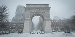 Winter Storm Jonas (dansshots) Tags: nyc newyorkcity snow washingtonsquarepark jonas blizzard greenwichvillage 1735mm snowpocalypse nycsnow nycblizzard newyorkblizzard snowinnewyork snowinnyc nikond3 snowmageddon dansshots winterstormjonas blizzardjonas
