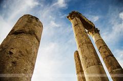 Temple of Hercules, Amman, Jordan (Seven Seconds Before Sunrise) Tags: travel sky architecture clouds asia columns amman middleeast jordan column ammancitadel templeofhercules