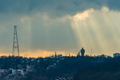 Light (Falcdragon) Tags: city light cloud skyline cityscape belgium sony beercan alpha a200 lige minoltaaf70210mmf4