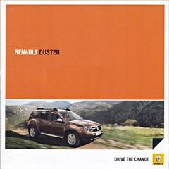 Renault Duster brochure 06-2010 (sjoerd.wijsman) Tags: auto cars car voiture renault duster vehicle brochure fahrzeug 2010 folleto prospekt carbrochure opuscolo brochura broschyr autobrochure 062010 renaultduster