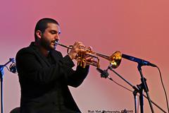 Ibrahim Maalouf plays Oum Kalthoum at Lyce Franais de New York (Rick & Bart) Tags: city nyc music usa newyork canon concert manhattan live jazz worldmusic oumkalthoum rickbart thebestofday gnneniyisi ibrahimmaalouf lycefranaisdenewyork rickvink eos70d 505east75thstreet