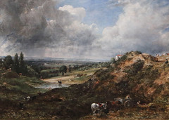 Hampstead Heath - Branch Hill Pond by Constable (AnthonyR2010) Tags: london museum painting gallery va victoriaandalbertmuseum hampsteadheath constable johnconstable hamspstead