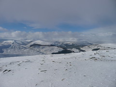 From the summit (brianandsusierobertson) Tags: winter hillwalking braemar morrone
