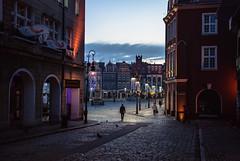 144/365 Velvet (ewitsoe) Tags: street city winter urban sun cold 35mm walking europe cityscape poland charm commute oldmarket poznan nikond80 365project ewitsoe staryryenk