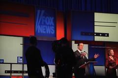 Rick Santorum & Carly Fiorina (Gage Skidmore) Tags: news mike events rick jim center iowa des fox carly republican debate moines gilmore fiorina caucus santorum huckabee