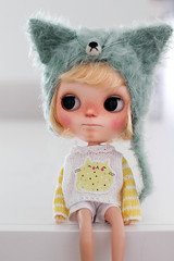 We love cats! (Petitedoll) Tags: cat doll charlie blythe custom misy fortywinksdollstudio