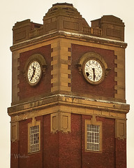 Terry's Clock Tower (Julie F Whelan) Tags: building clock factory artdeco chocolatefactory