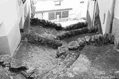 San Francisco rstico (Ral Grijalbo) Tags: street bw stairs canon calle escaleras villafranca callejn maestrat maestrazgo grijalbo