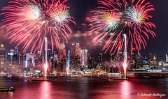 Lunar New Year 2016 (Gobinath Mallaiyan) Tags: world life park new york city nyc color building love america river happy monkey newjersey colorful state display fireworks manhattan magic year joy hamilton chinese celebration beginning hour esb empire lunar weehawken hutson hamiltonpark