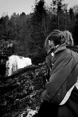 KL3M5332 (FR4GIL3) Tags: winter wild france nature women eau hiver femme jura cascade fort flou calme roche