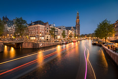 Amsterdam - Pays bas (Arno Dumont) Tags: blue amsterdam night hour bas pays dri hollande