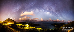 Milky Way Rising Over Hanauma Bay & Koko Head(Web) (Ryan O. Hung) Tags: night photography oahu ryan hiking nightsky hanaumabay hanauma hung kokohead milkyway ryanhung hawaiianpolarbear