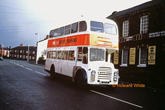 Second time around (SelmerOrSelnec) Tags: bus titan ashtonunderlyne leyland wigan gmt massey kingsroad pd2 gmbuses drivertrainer aek1b
