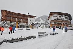 Piazza Nives Platz (Val Gardena - Grden Marketing) Tags: schnee grden selva sdtirol altoadige valgardena dolomitisuperski wolkenstein langkofel sellaronda neuschnee sassolungo trentinoaltoadige