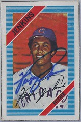1972 Kelloggs Box Baseball Card (Blank Back) - Ferguson Jenkins #NN (Pitcher) (Hall of Fame 1991) - Autographed Baseball Card (Chicago Cubs) (WhiteRockPier) Tags: auto canada sign vintage cards baseball graf graph canadian autograph halloffame 1972 kelloggs texasrangers chicagocubs bostonredsox hof signed mlb canadianbaseballhalloffame cbhof fergiejenkins fergusonjenkins