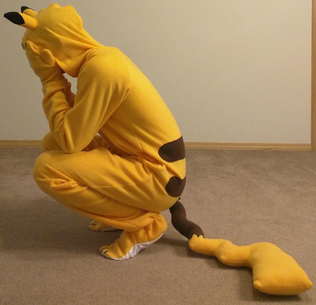 Adult pokemon footie pajamas