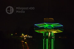 The Space Needle in Gatlinburg, TN at night (milepost430media.com) Tags: above winter sky tower tourism night dark lights march amusement town nationalpark spring high scenery view ride steel elevator relaxing tourist illuminated led deck entertainment nighttime needle manmade leds historical strong spaceneedle tall gatlinburg elevated dslr viewpoint smokies tranquil attraction chairlift observationdeck horizontallines greatsmoky verticallines 70d