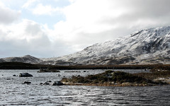 Scottish Highlands near Glencoe by Grant Hulley (henryhulley) Tags: winter wild cloud snow ice nature water canon scotland frozen scenery view loch wilderness scottishhighlands canonuser naturewatcher